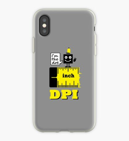 Dot per Inch VRS2 iPhone Case