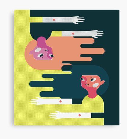 Friend Story 2 Canvas Print