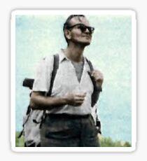 Hipster Pope John Paul 2 Sticker