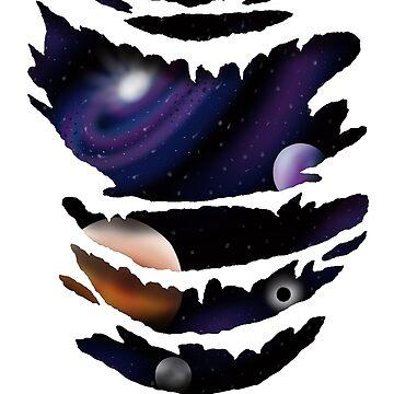 3D Galaxy by EmmyGoat