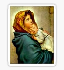 Madonna of the Streets Sticker