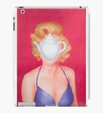 Magritte inspired Marilyn iPad Case/Skin