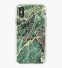 Green marble phone cover iPhone Case