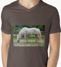 Draft Horse Men's V-Neck T-Shirt