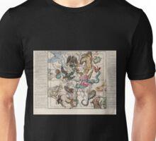 Globi Coelestis in Tabulas Planas Redacti Descriptio 05 Astronomy Constellations Unisex T-Shirt