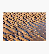 Sandy Forms Photographic Print
