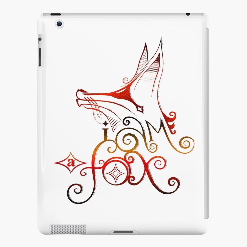 I am a Fox iPad Case & Skin