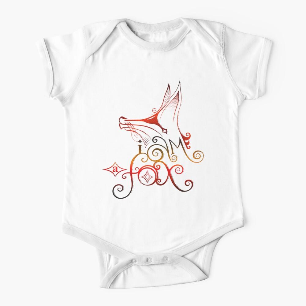 I am a Fox Baby One-Piece
