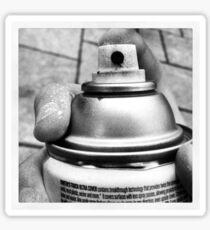 Spraypaint Sticker