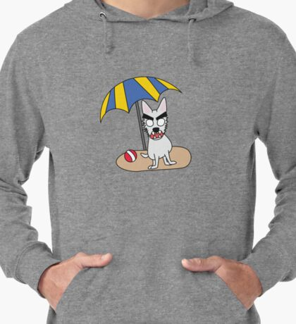 zombie beans romps on the beach Lightweight Hoodie