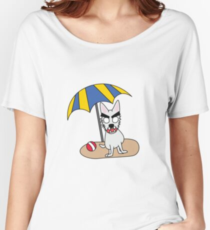 zombie beans romps on the beach Women's Relaxed Fit T-Shirt