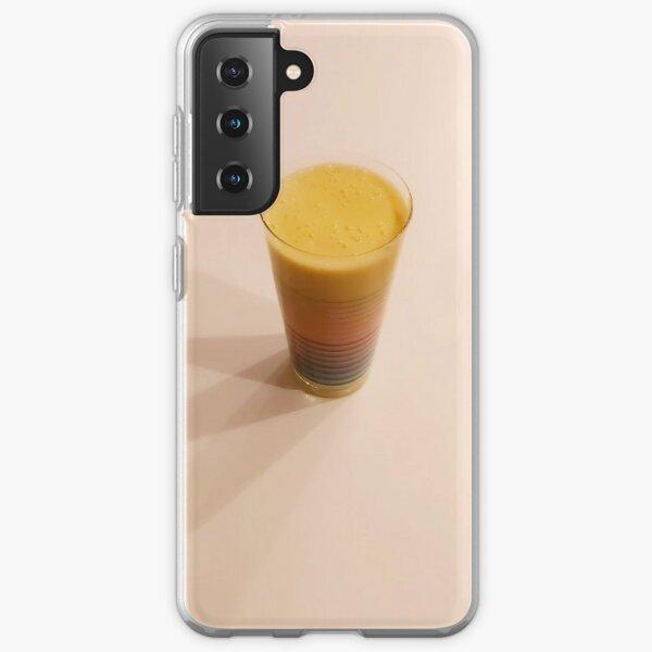 Orange saft Samsung Galaxy Soft Case
