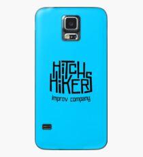 Hitchhikers Improv (Retro Black) Case/Skin for Samsung Galaxy