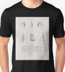 0406 Neues Reich Dynastie XVII Theben Thebes a c Drei Köpfe aus dem Asasifthale d g und h m Zwei Statuen aus Qurna a m jetzt im K Museum zu Berlin T-Shirt