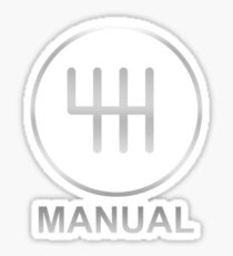 Save the Manuals!! Sticker