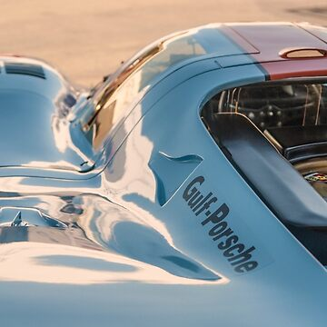 1969 Gulf Porsche 917, chassis 017/004: aero details by MuethBooth