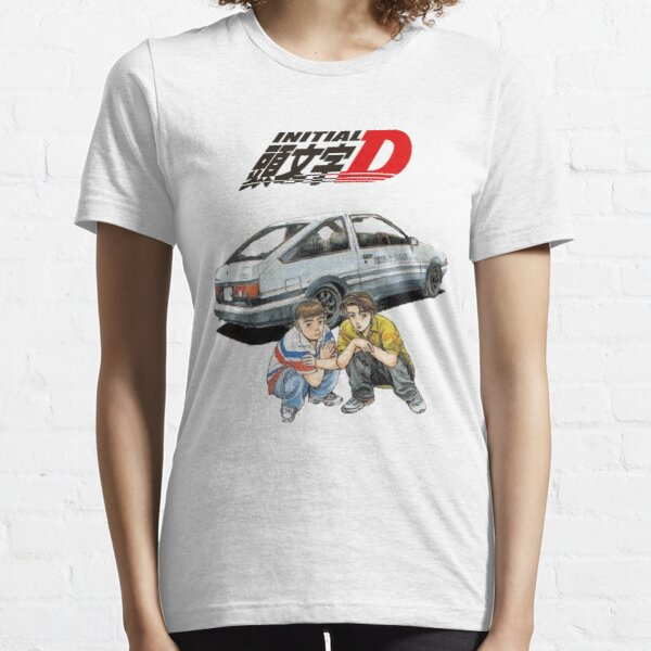 D inicial Takumi e Itsuki Camiseta esencial