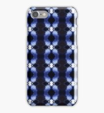 snowflakes in blue 3 pattern iPhone Case/Skin