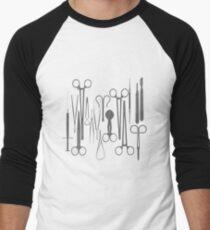 DC Men's Baseball ¾ T-Shirt