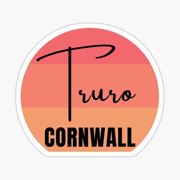 Truro - Retro Sticker