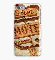 Vintage Star Motel Sign iPhone Case/Skin