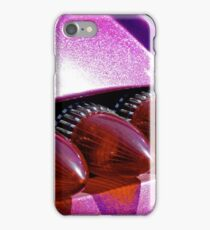 Bullet tail lights and purple metal flake iPhone Case/Skin