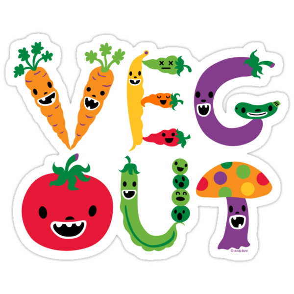 Veg Out by Andi Bird