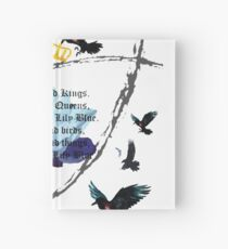 The Raven Cycle- Blue Lily, Lily Blue Hardcover Journal