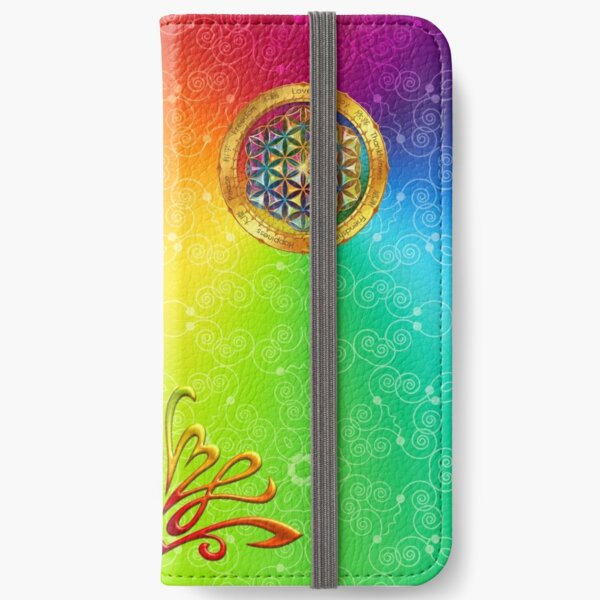 The Flower of Life iPhone Wallet