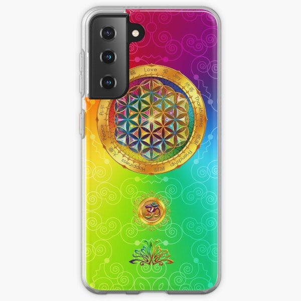 The Flower of Life Samsung Galaxy Soft Case