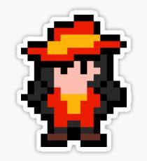 Pixel Carmen Sandiego Sticker