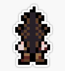Pixel Pyramid Head Sticker