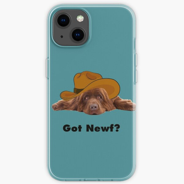 Got Newf with Brown Newfie iPhone Soft Case