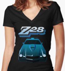 1979 Camaro Z28 illustration Women's Fitted V-Neck T-Shirt