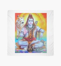Shiva and Nandi Scarf