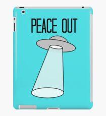 Peace Out, Earth iPad Case/Skin
