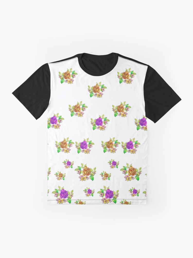 Alternate view of All About Roses Graphic T-Shirt