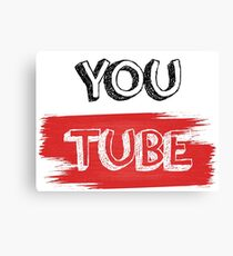YouTube! Canvas Print