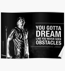 Dream Obstacle Poster