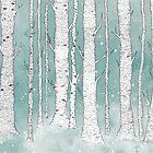 Birch Forest by randoms
