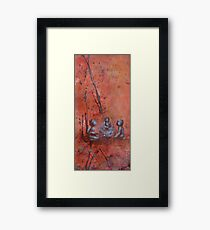 Communication by 'Donna Williams' Framed Print