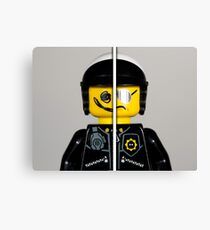 Good Cop - Bad Cop  Canvas Print