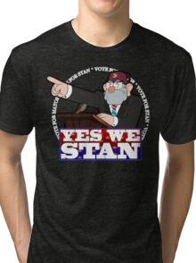YES WE STAN! Tri-blend T-Shirt