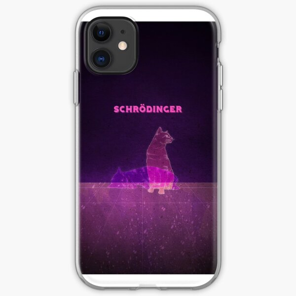 Schrodinger's Cat iPhone Soft Case