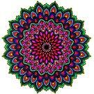 Rainbow Mandala by WelshPixie