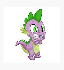 Giggling Spike Photographic Print