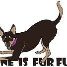 ONE IS FUR FUN by Adrienne Isnard