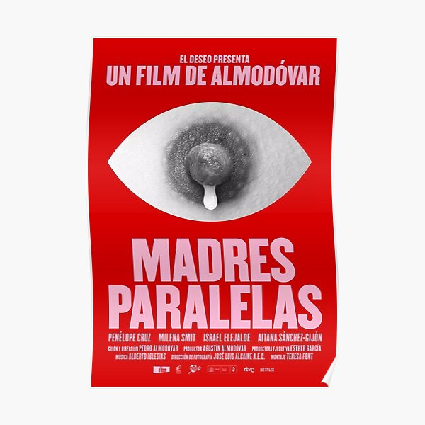 Movie Madres Paralelas Poster Poster