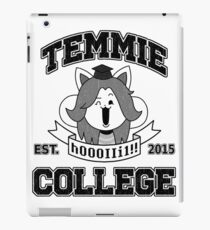Temmie College iPad Case/Skin