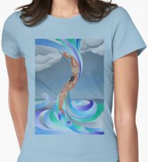 The Eye of the Storm Women's Fitted T-Shirt